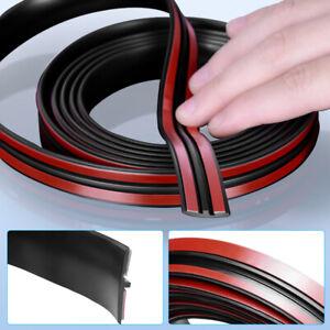 4M Universal T-Shape Rubber Car Roof Protector Trim Edge Seal Strip Rear Window