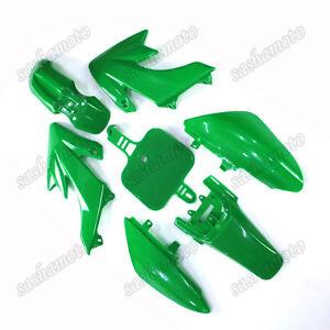 Green Plastic Fairing Fender Kits For Piranha Honda CRF50 SDG XR50 Pit Dirt Bike