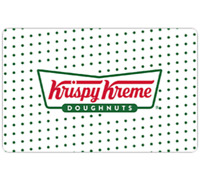 Krispy Kreme Gift Card - $25 $50 or $100 - Email delivery