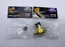 Fumoto F111N Oil Drain Valve M14 - 1.25 & LC10 Clip & F-CAP