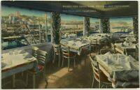 Vista Del Mar Restaurant Marine View Dining Room San Francisco CA Postcard