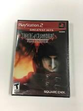 Final Fantasy VII Dirge Of Cerberus PS2 Brand New