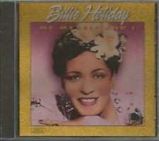 Me Myself and I by Billie Holiday (CD, Jan-1996, BCI-Eclipse Distribution)