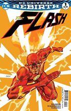 FLASH #1 (2016) 1st Print Cover B NM DC Universe Rebirth Godspeed B160
