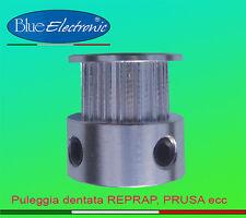 Puleggia ruota dentata 16 denti per stampanti 3D Reprap Prusa Mendel auomazione