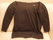 New Nike Active Pro Combat Black Long Sleeve Top 531977-010 2Xl Spandex Nylon