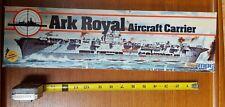 Vintage 1982 MPC 1:600 Ark Royal Aircraft Carrier Plastic Model Kit #1-5102
