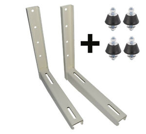 Large air Conditioning Condenser Brackets with Anti Vibration Pads