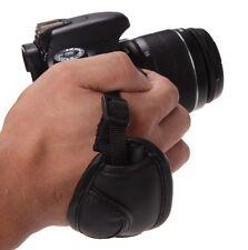 Black Vintage PU Wrist Camera Strap Hand Grip for Camera DSLR camera accessory