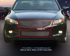 Fits 2008-2010 Honda Accord Coupe Billet Grille Grill Combo Insert