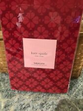 KATE SPADE NEW YORK SPADE FLOWER Tablecloth -70 in. ROUND CRANBERRY NIP