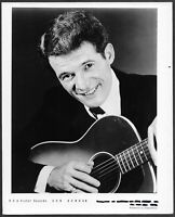 ~ Don Bowman Original 1960s RCA Promo Portrait Photo Country Music Guitar