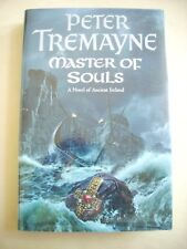 Peter Tremayne--MASTER OF SOULS 1st UK ed 1st ptg HCDJ Signed