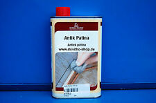 (27,00 € / 1 L) Borma Wachs Antik patina, Wachs Holzwachs, Bienenwachs in 500 ml