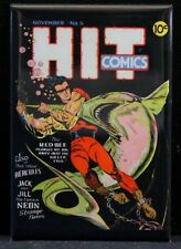 "Hit Comics 2"" X 3"" Fridge / Locker Magnet."