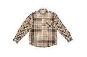 Boys Burberry Long Sleeve Nova Check Shirt Kids Children London Brit 12Y / 152cm