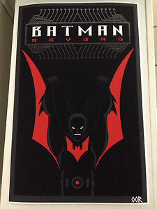 Batman Beyond poster print
