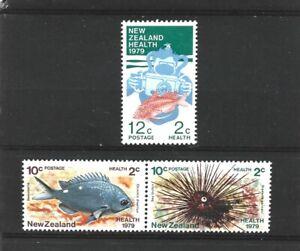 New Zealand 1979 Health Set MNH