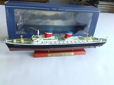 Atlas 1:1250 Scale SS United States die cast Ocean Liner Model Open Box