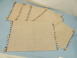 PIER 1 IMPORTS, PLACEMATS, LOT OF 5, NEW