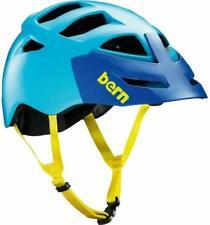 Bern Morrison Zipmold Bike Cycling Helmet, Bright Blue Boa S-M | L-XL | XXL-XXXL