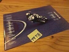 Suzuki supersport 2002 GSXR 1100 750 600 TLR 1000 prospectus moto brochure pub