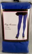 Leg Avenue Hosiery - blue nylon tights - 7300 - onesize NIP