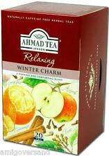 Ahmad Tea - Relaxing - WINTER CHARM Herbal Tea - 20 Teebeutel