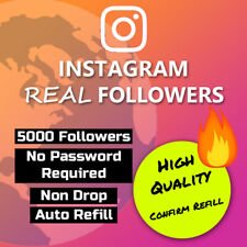 5000 x IG Followers (NO PASSWORD REQUIRED)