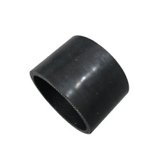 """CXRacing Black Silicon Hose Coupler 2"""" Straight for Intercooler Pipe 1.5"""" Long"""