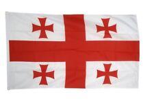 Fahne Flagge Georgien - 90 x 150 cm Hissflagge