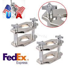 2pcs dental industry Reline Jig Single Compress Press plating Equipment USA SHIP