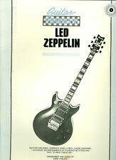 Guitar Techniques Of  Led Zeppelin songbook sheet music dazed and confused