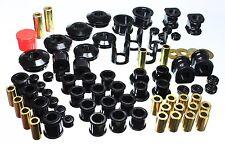Energy MASTER Hyper Flex Bushing Kit For 89 90 91 92 93 94 Nissan 240SX (Black)
