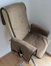 Protector de sillón, Protector de sillón, Cojín de silla, chaleco, Camello Lana
