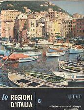 LIGURIA di Claudia Merlo  1961 UTET volume VI le regioni d'Italia