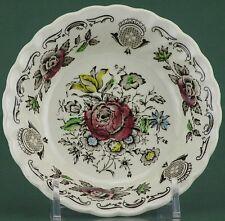 Myott/Staffordshire Earthenware, Bouquet (No Trim) Pattern, Fruit/Dessert Bowl