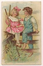 """""""Just play that your my little girl"""" - Boy romances a girl with flowers Farmer"""