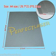 1 Sheet Silicone Rubber Grey A4 1.5mm Thick Engraving Engraver Cutting Stamp