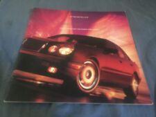 1997 Mercedes Benz E Class Sport USA Color Brochure Prospekt