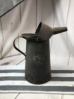 Vintage DOVER 4 Qt. Oil Can with Pour Spout and Pour Lip Garage /Service Station