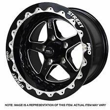 "Street Pro II 15 x 8.5 ""Bead lock"" Style Drag Racing wheel In Ford Pattern"
