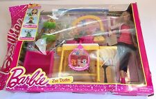 Barbie Careers Zookeeper Zoo Doctor Doll and Playset