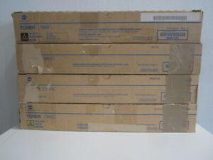 Original Konica Minolta Toner Set TN321 KYMC bizhub C224  C284  C364 NEU & OVP
