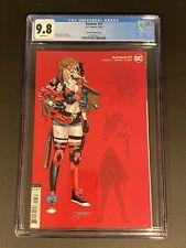 batman 97 variant 1:25 cgc 9.8 Harley Quinn