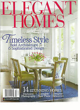 ELEGANT HOMES, TIMELESS STYLE  FALL / WINTER, 2015 ( BOLD ARCHITECTURE & SOPHIS