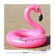 Rosa Grande Fenicottero Nuoto Barca Sedile Piscina Bambini Adulti Spiaggia Fun