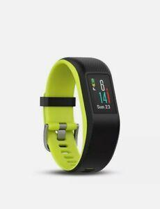 Garmin Vivosport Smartwatch Waterproof Fitness Sport Tracker Heart Rate Blk/Lime