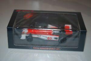 Mclaren M23 No.40 British Gp Formula 1 1977 (Gilles Villeneuve) 1:43 Spark