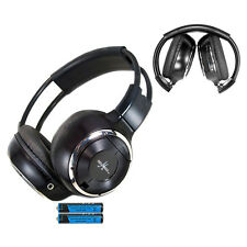 1 Fold In Wireless Infrared DVD Rear Headphones Headset Jeep Mopar Van IR-2008B
